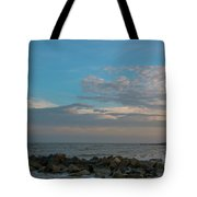 Salty Air Over Breach Inlet Tote Bag