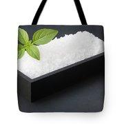 Salty Basil Tote Bag