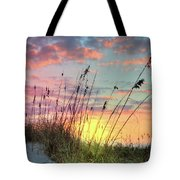 Salty Breeze On The Dunes Tote Bag