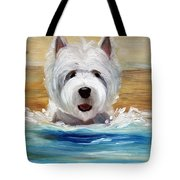 Salty Dawg Tote Bag