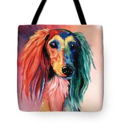 Saluki Sunset Tote Bag