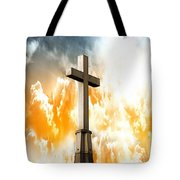 Salvation  Tote Bag by Aaron Berg