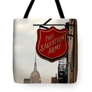 Salvation Army New York Tote Bag