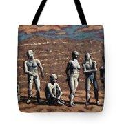Salvation Line Tote Bag
