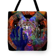 Salvation Within Solar Light Tote Bag