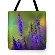 Salvia May Night Art -purple Modern Abstract Art Tote Bag