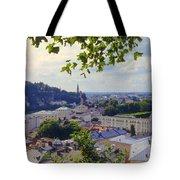 Salzburg City View Four Tote Bag