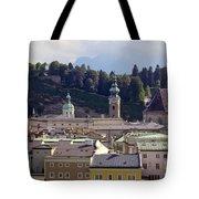 Salzburg City View Three Tote Bag