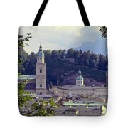 Salzburg City View Two Tote Bag