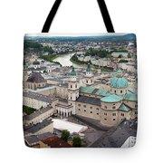 Salzburg Panoramic Tote Bag by Adam Romanowicz