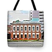 Samara Houses Tote Bag
