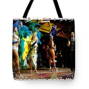 Samba Dancers Tote Bag