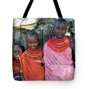 Samburu Sisters Tote Bag