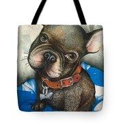 Sammy The French Bulldog Tote Bag