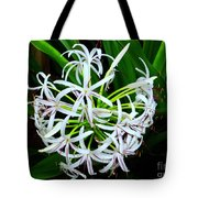 Samoan Spider Lily Tote Bag