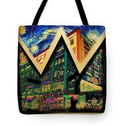 samoL Starry Night Tote Bag