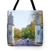 Sample Gates At University Of Indiana Tote Bag