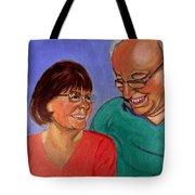 Samson And Delia Tote Bag