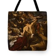 Samson Captured By The Philistines Tote Bag