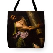 Samson In The Temple Tote Bag
