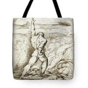 Samson Slaying The Philistines With The Jawbone Of An Ass Tote Bag