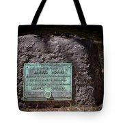12- Samuel Adams Tombstone In Granary Burying Ground Eckfoto Boston Freedom Trail Tote Bag