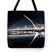 Samuel Beckett Bridge 3 V2 Tote Bag