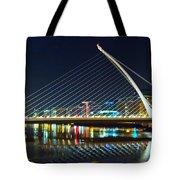 Samuel Beckett Bridge 4 Tote Bag