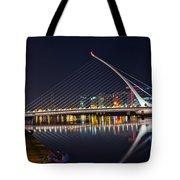 Samuel Beckett Bridge  Tote Bag