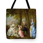 Samuel Richardson Seated With His Family Tote Bag