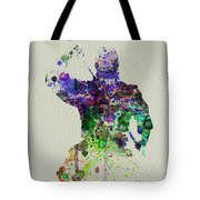 Samurai Tote Bag by Naxart Studio