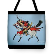 Samurai Rider Tote Bag