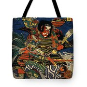 Samurai Warriors Battle 1819 Tote Bag