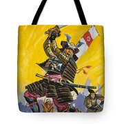 Samurai Warriors Tote Bag