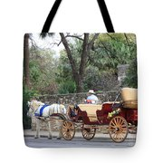 San Antonio Carriage Tote Bag