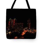 San Antonio Night Tote Bag