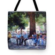 San Antonio Shadowplay Tote Bag