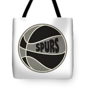 San Antonio Spurs Retro Shirt Tote Bag