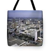 San Antonio Texas Skyline Tote Bag