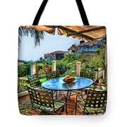 San Clemente Estate Patio Tote Bag