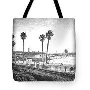 San Clemente Pier California Tote Bag