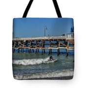 San Clemente Surfing Tote Bag