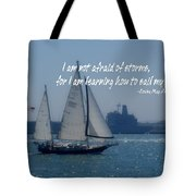 San Diego Bay Quote Tote Bag by JAMART Photography