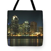 San Diego Cityscape Tote Bag by Mike McGlothlen