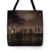 San Diego Evening Skyline Tote Bag