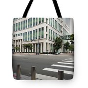 San Diego Hall Of Justice Tote Bag