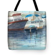 San Diego Mission Bay Tote Bag