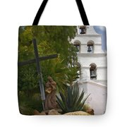 San Diego Mission Bells Tote Bag
