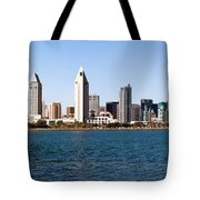 San Diego Panorama Tote Bag
