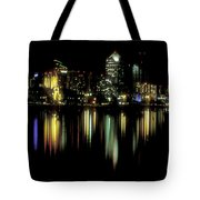 San Diego Skyline Tote Bag